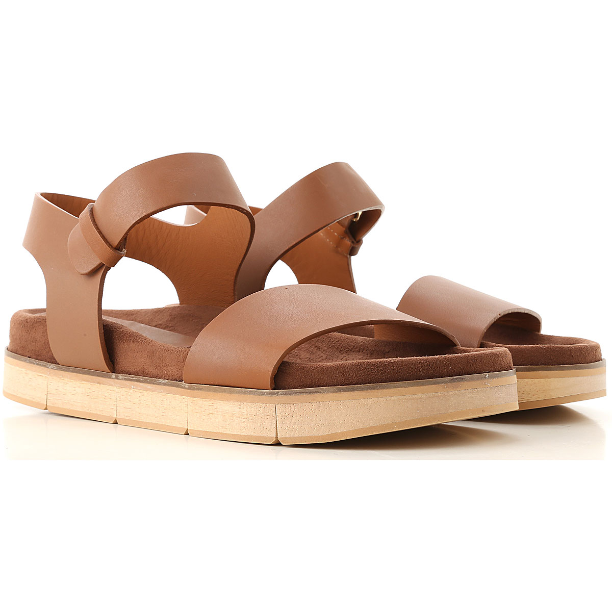 Paloma Barcelo Sandals for Women Leather USA - GOOFASH