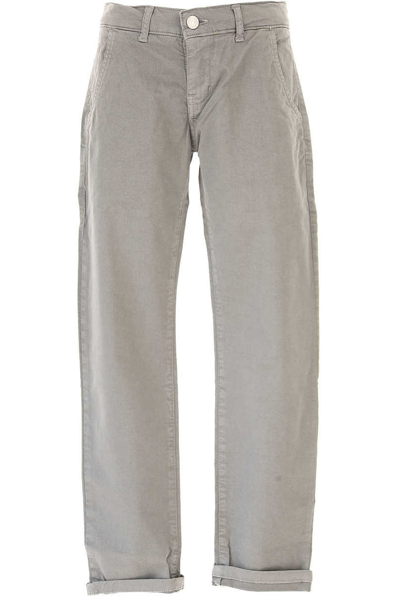 Paolo Pecora Kids Pants for Boys in Outlet Elephant USA - GOOFASH
