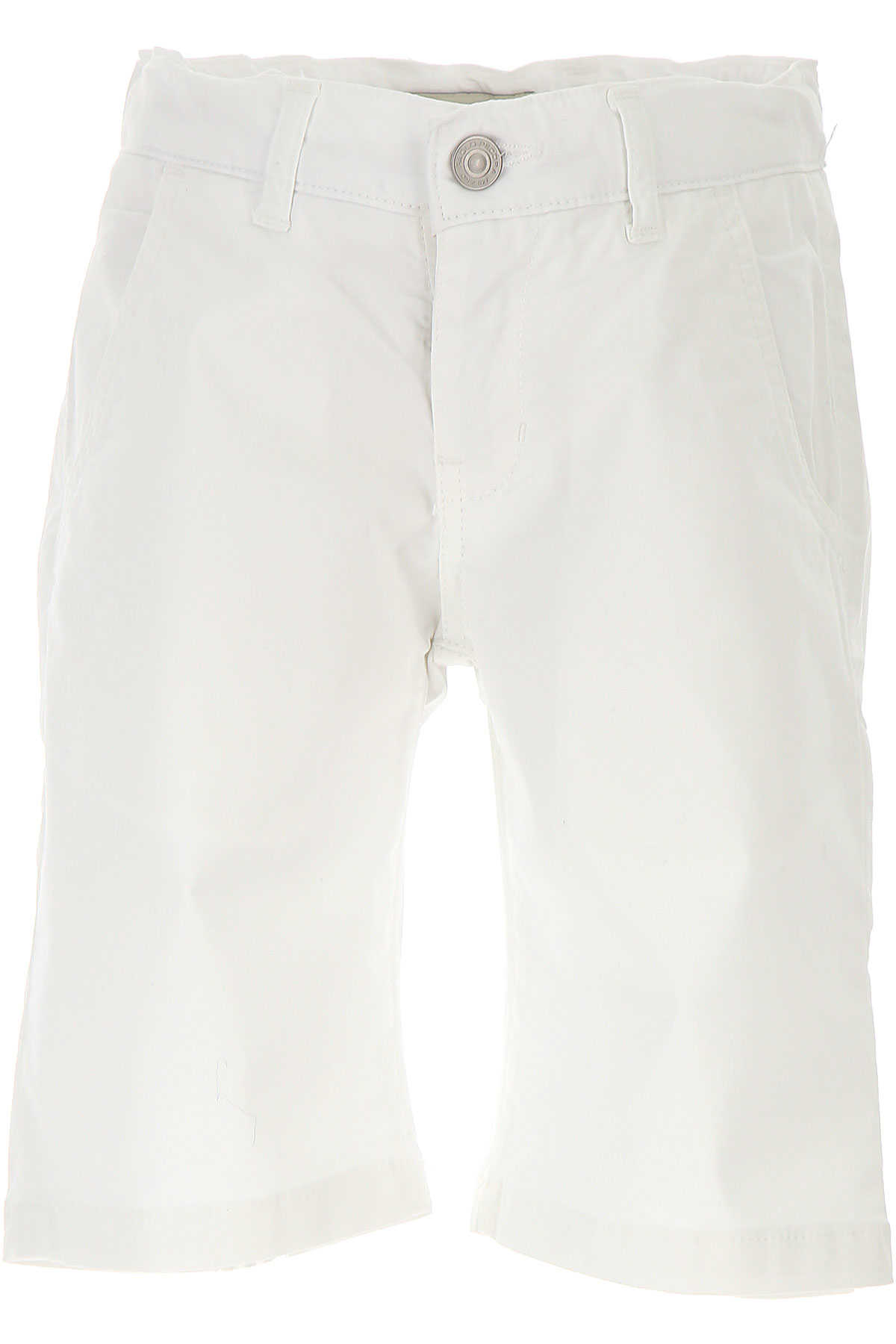 Paolo Pecora Kids Shorts for Boys On Sale in Outlet White SE - GOOFASH