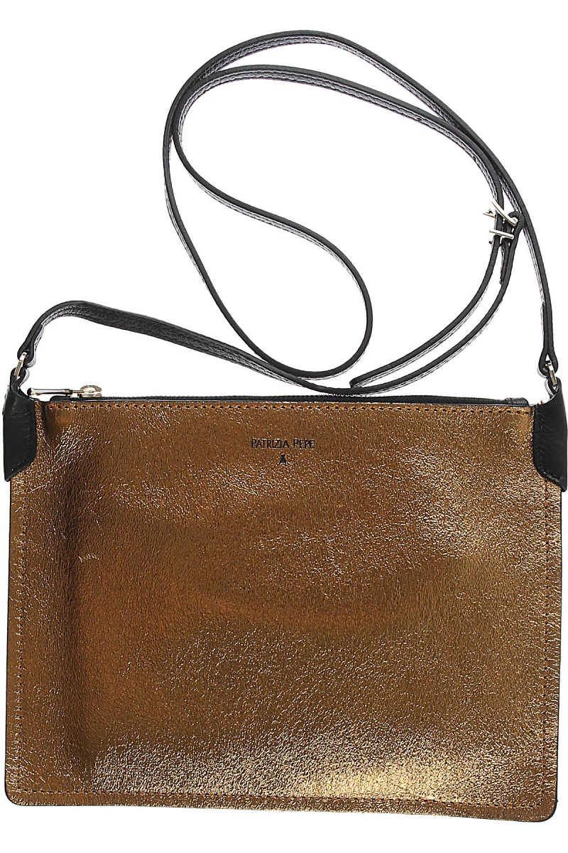 Patrizia Pepe Women's Pouch in Outlet Gold USA - GOOFASH