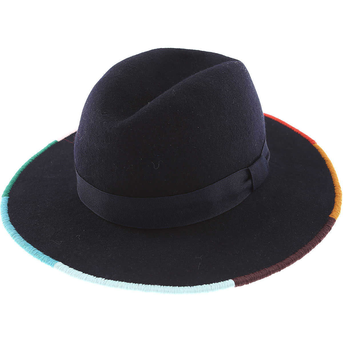 Paul Smith Hat for Women Dark Midnight Blue SE - GOOFASH