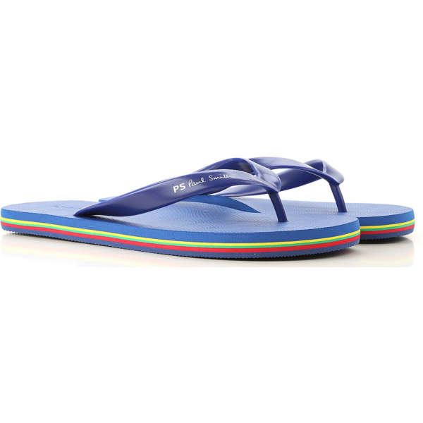 Paul Smith Sandals for Men On Sale Dark Blue Navy SE - GOOFASH