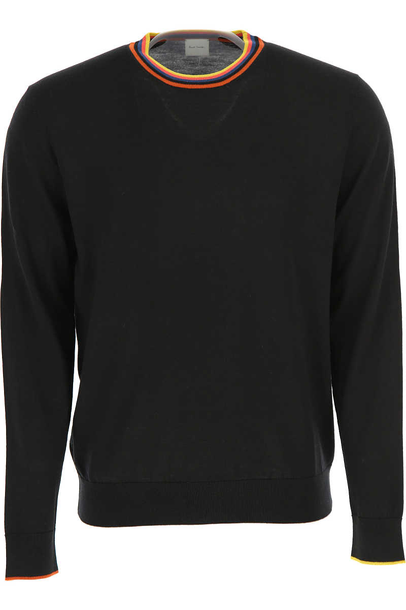 Paul Smith Sweater for Men Jumper Black USA - GOOFASH