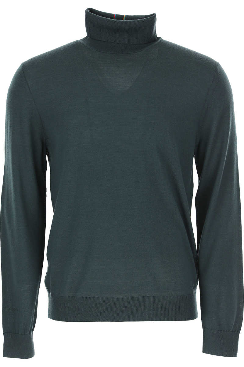 Paul Smith Sweater for Men Jumper Forest Green USA - GOOFASH