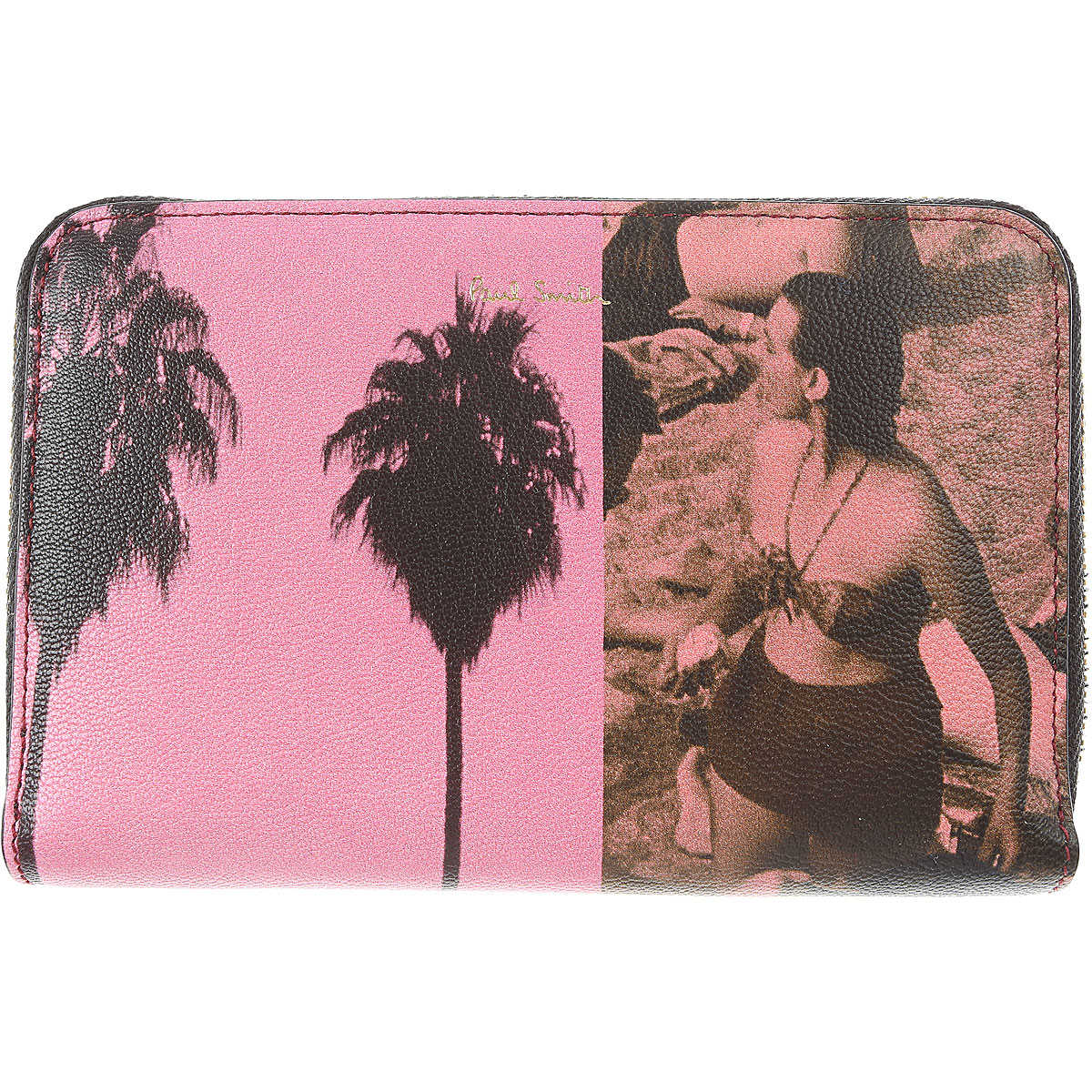 Paul Smith Wallet for Women Pink SE - GOOFASH