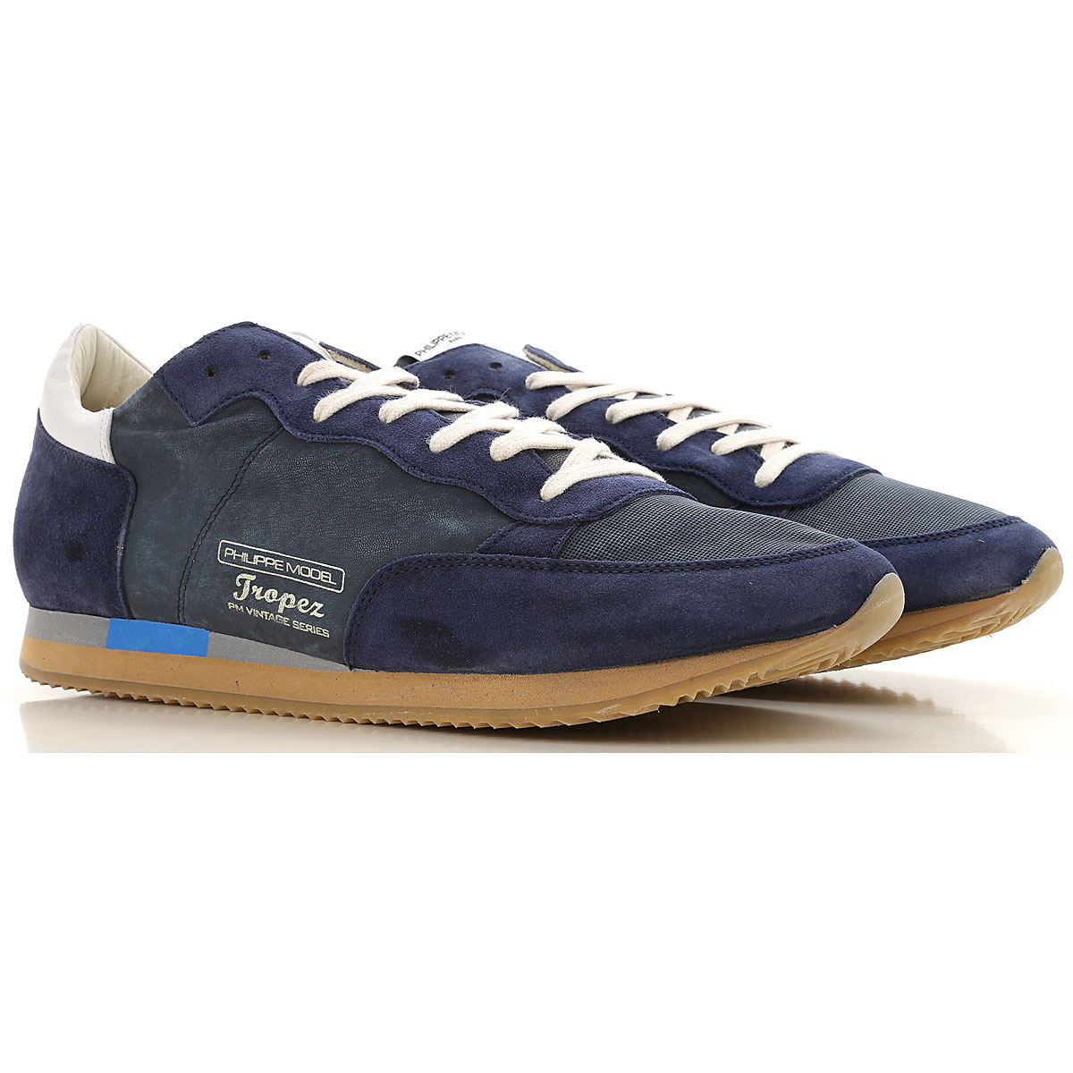 Philippe Model Sneakers for Men On Sale Blue Navy SE - GOOFASH