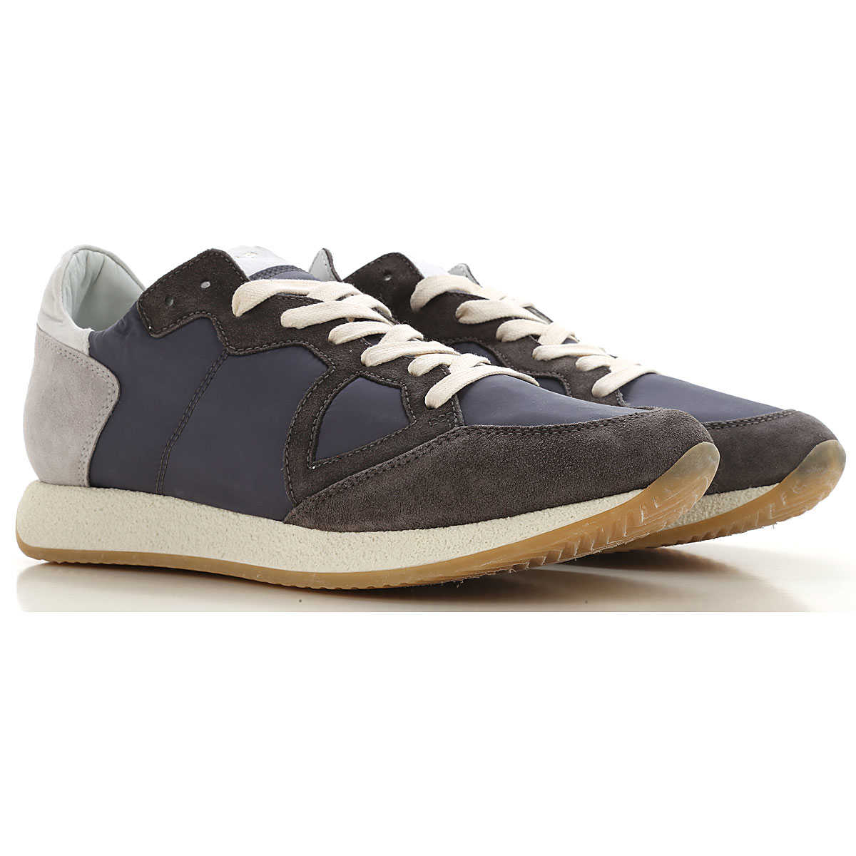 Philippe Model Sneakers for Men On Sale Dirty Grey SE - GOOFASH