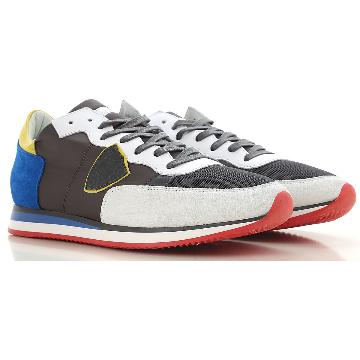 Philippe Model Sneakers for Men On Sale Grey SE - GOOFASH
