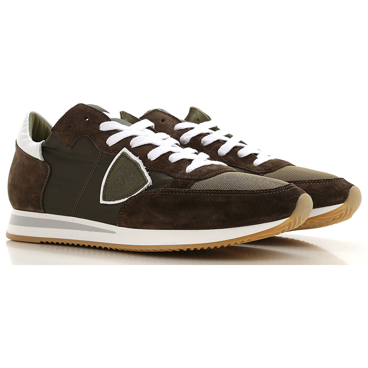 Philippe Model Sneakers for Men On Sale Military Green SE - GOOFASH