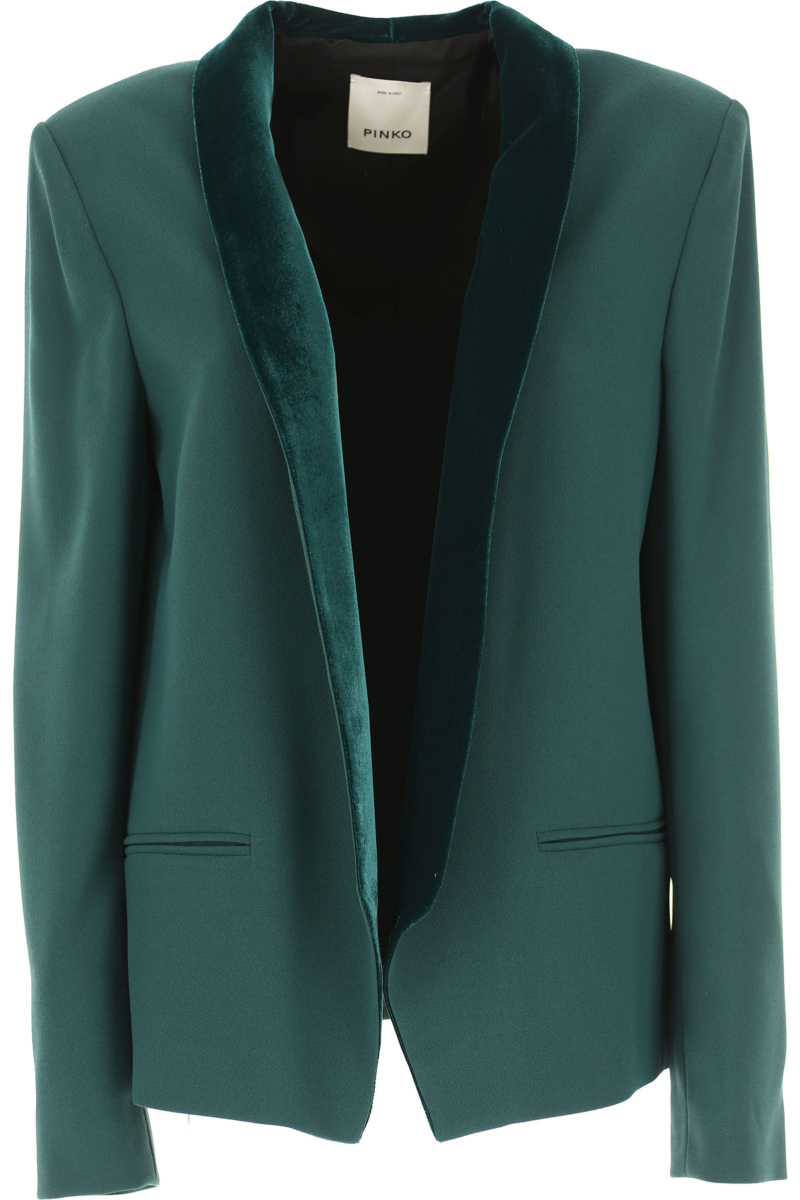 Pinko Blazer for Women On Sale in Outlet Green SE - GOOFASH