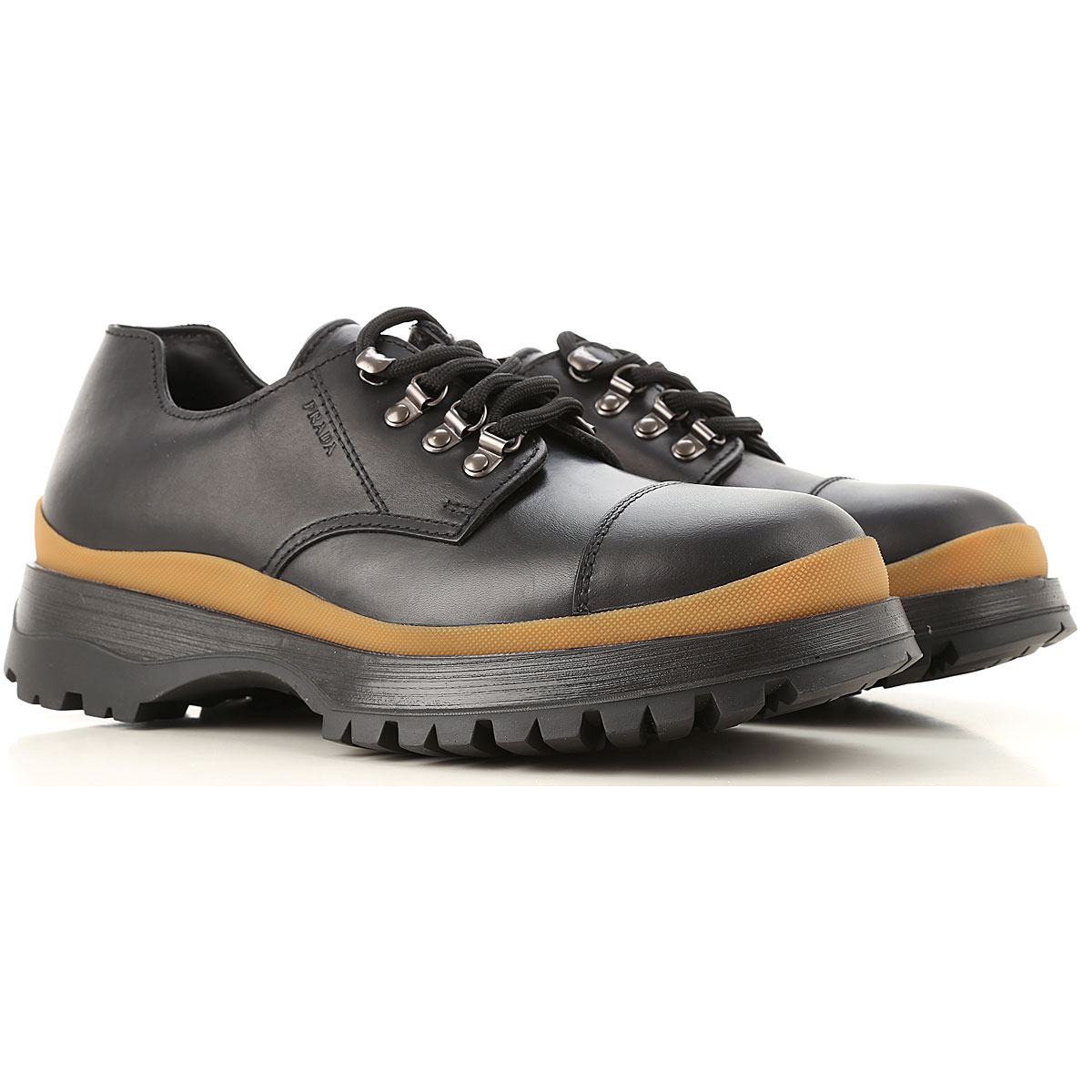 Prada Lace Up Shoes for Men Oxfords Derbies and Brogues On Sale SE - GOOFASH