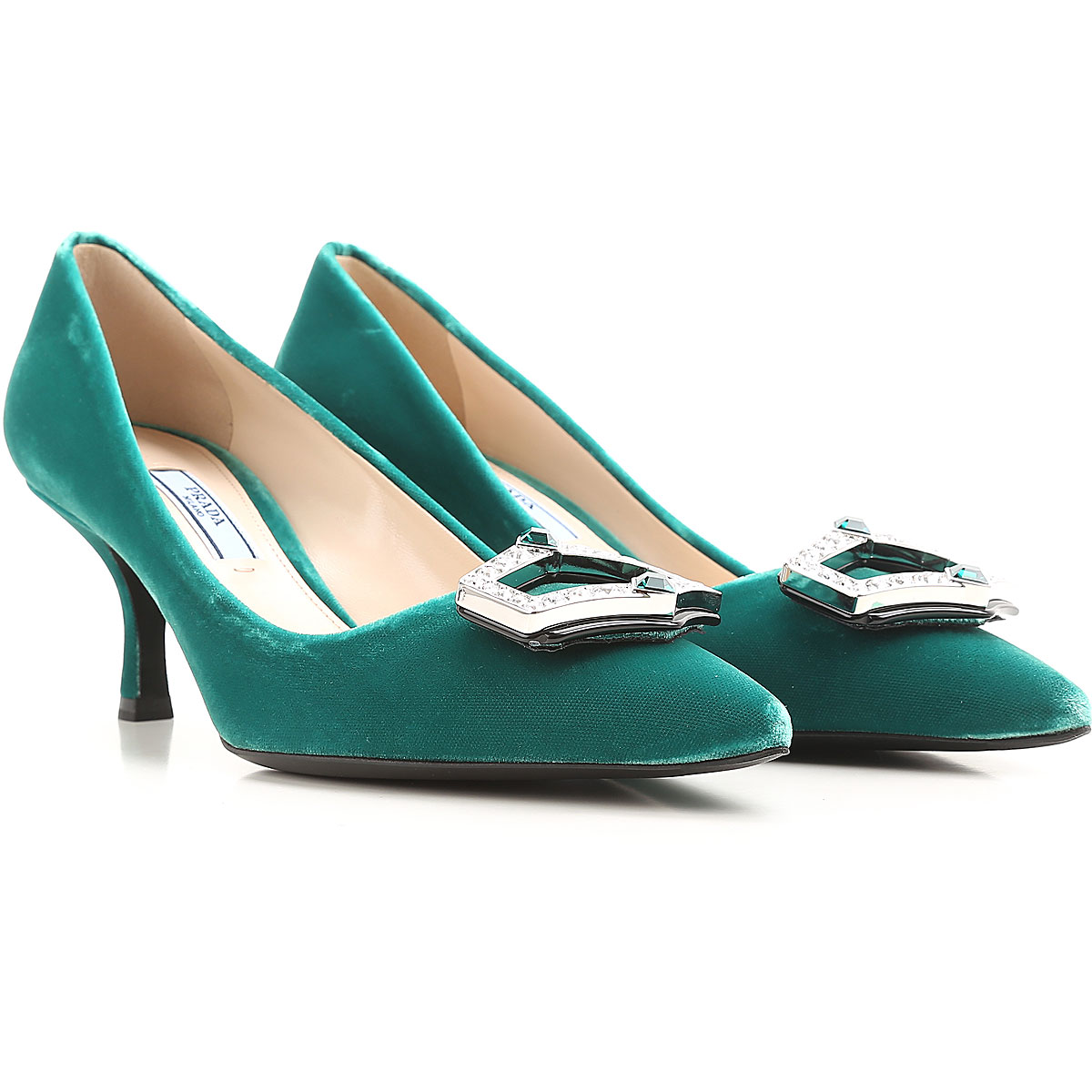 Prada Pumps & High Heels for Women in Outlet Larch Green USA - GOOFASH