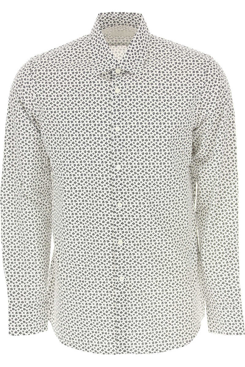 Prada Shirt for Men in Outlet White USA - GOOFASH