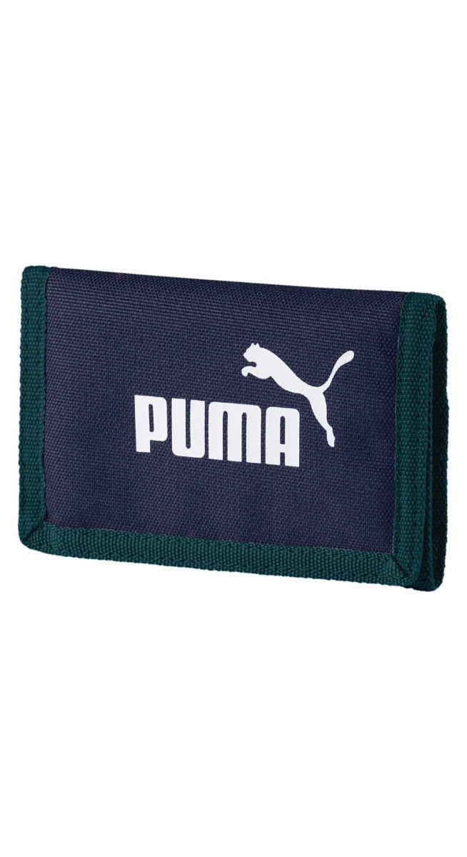 Puma Phase Wallet Blue UK - GOOFASH