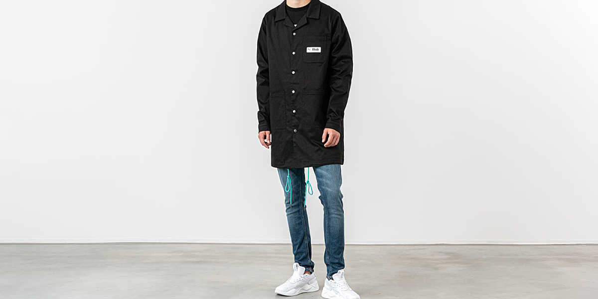Puma x Rhude Coat Black UK - GOOFASH