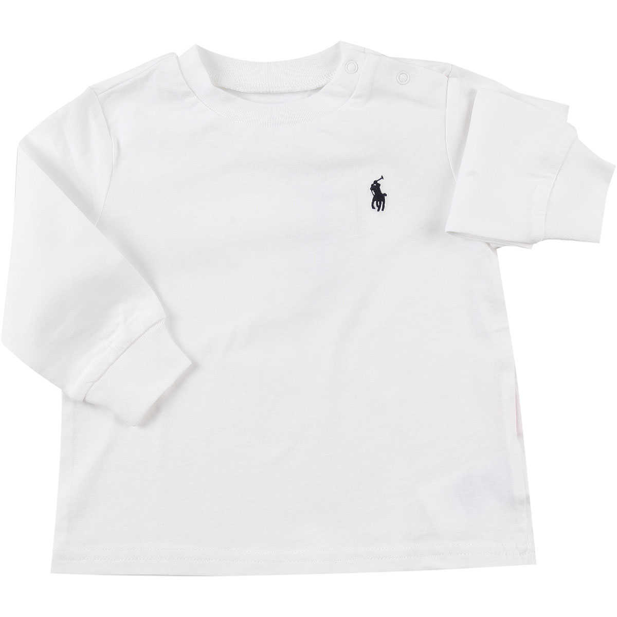 Ralph Lauren Baby T-Shirt for Boys On Sale in Outlet White SE - GOOFASH