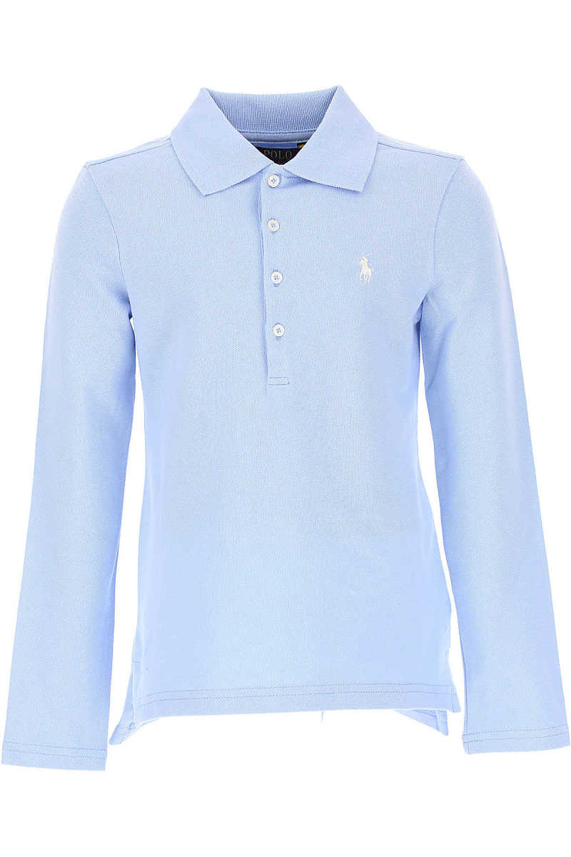 Ralph Lauren Kids Polo Shirt for Girls On Sale in Outlet Sky SE - GOOFASH