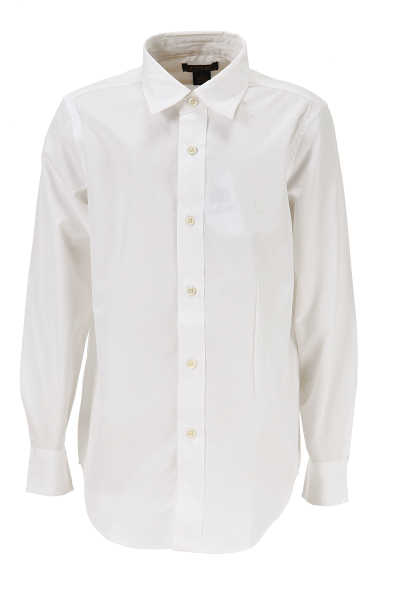 Ralph Lauren Kids Shirts for Boys On Sale in Outlet White SE - GOOFASH