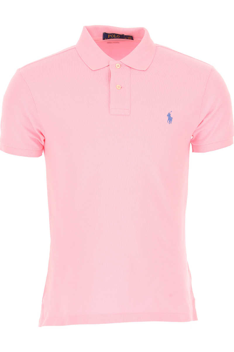 Ralph Lauren Polo Shirt for Men Pink USA - GOOFASH