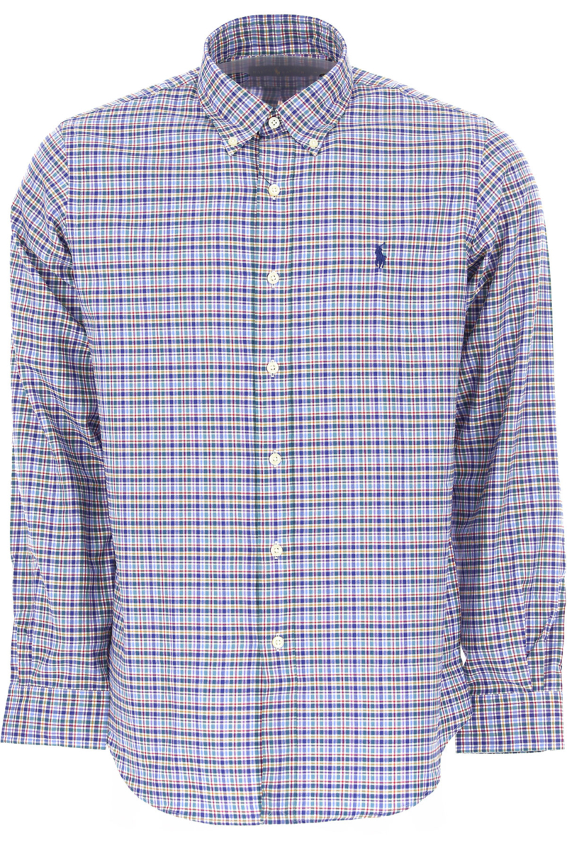 Ralph Lauren Shirt for Men On Sale in Outlet Light Blue SE - GOOFASH