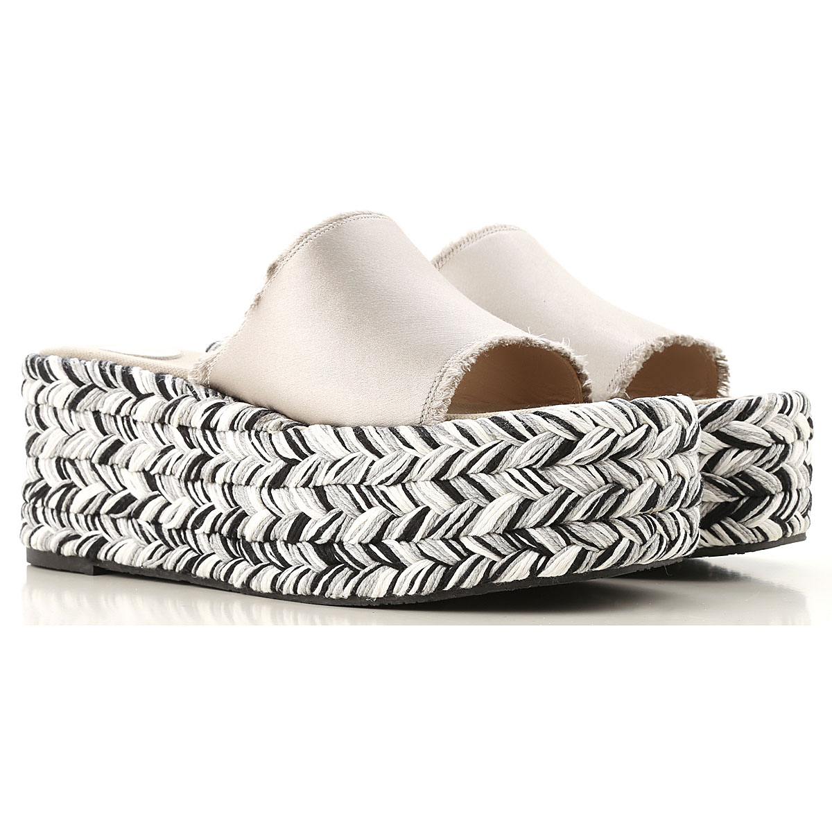Ras Wedges for Women Silver USA - GOOFASH