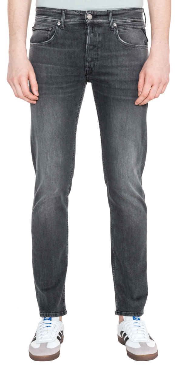 Replay Grover Jeans Black UK - GOOFASH