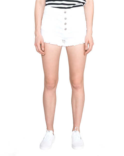 Replay Shorts White UK - GOOFASH