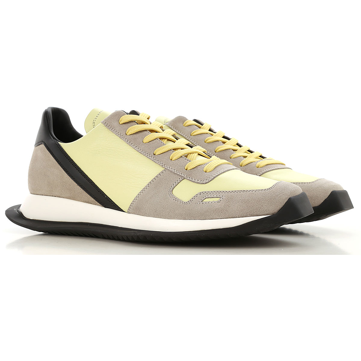 Rick Owens Sneakers for Men in Outlet Lime USA - GOOFASH