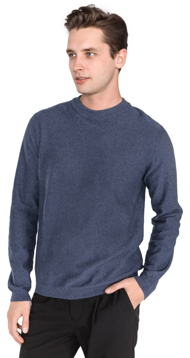 SELECTED Page Sweater Blue UK - GOOFASH