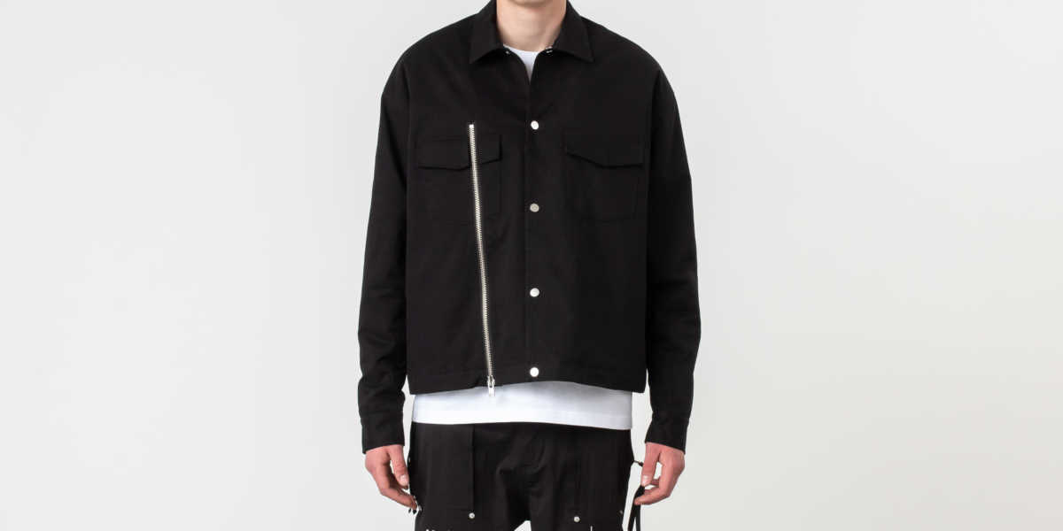 STAMPD Detroit Jacket Black UK - GOOFASH
