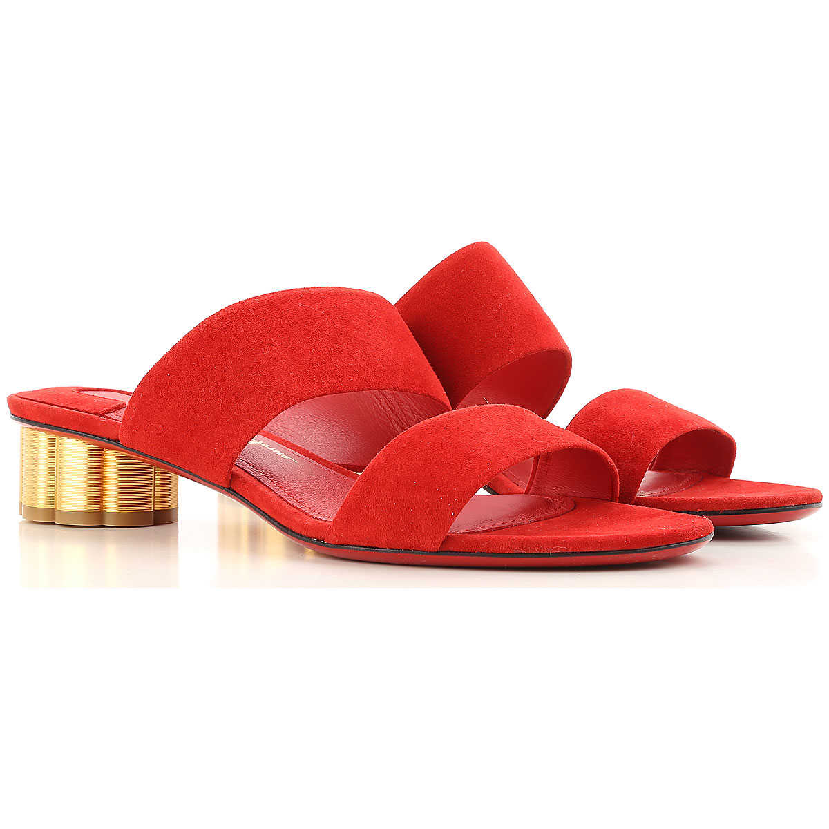 Salvatore Ferragamo Sandals for Women On Sale in Outlet Red SE - GOOFASH