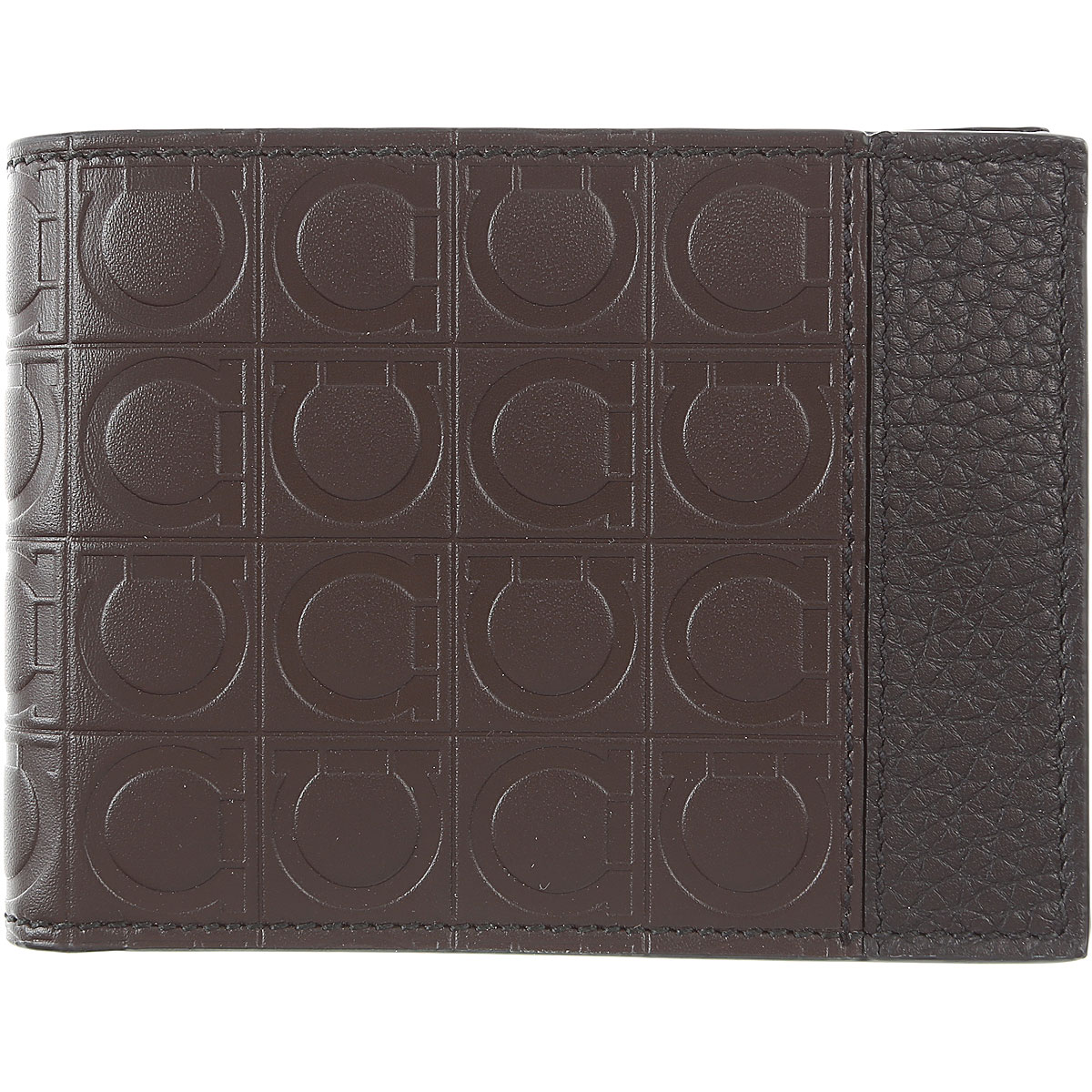 Salvatore Ferragamo Wallet for Men Brown USA - GOOFASH