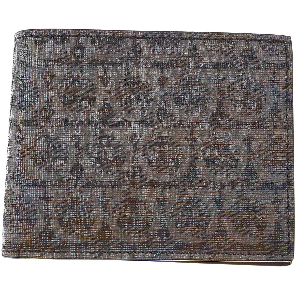 Salvatore Ferragamo Wallet for Men Medium Grey SE - GOOFASH