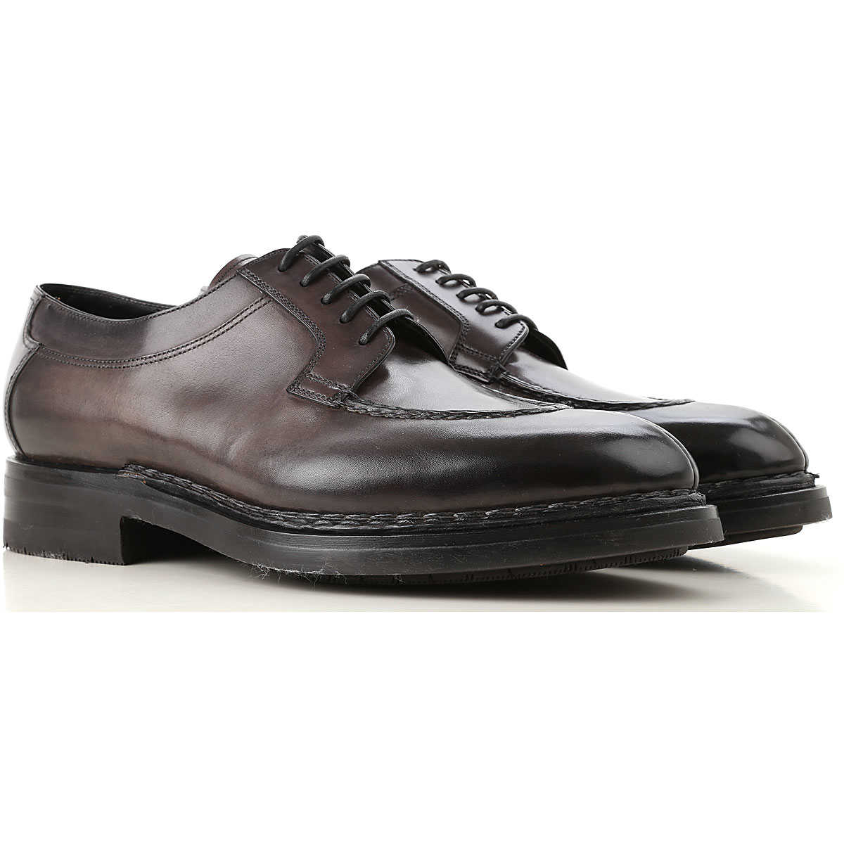 Santoni Lace Up Shoes for Men Oxfords Derbies and Brogues On Sale USA - GOOFASH