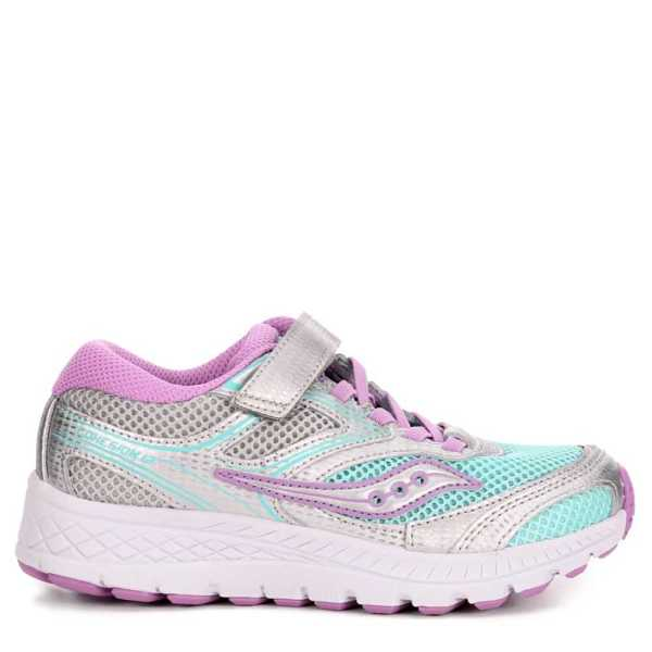 Saucony Girls Cohesion Running Sneakers Turquoise USA - GOOFASH