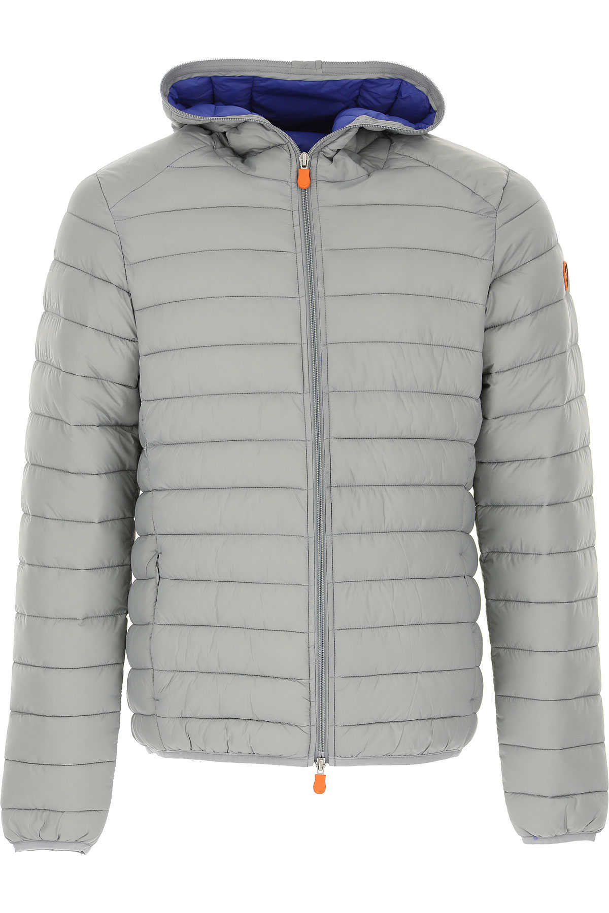 Save the Duck Jacket for Men Grey USA - GOOFASH