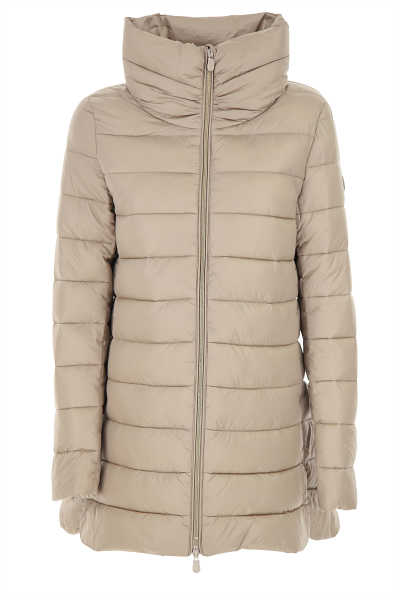 Save the Duck Jacket for Women Grey Pearl USA - GOOFASH