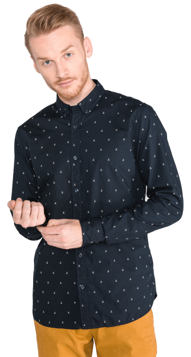 Scotch & Soda Shirt Blue UK - GOOFASH