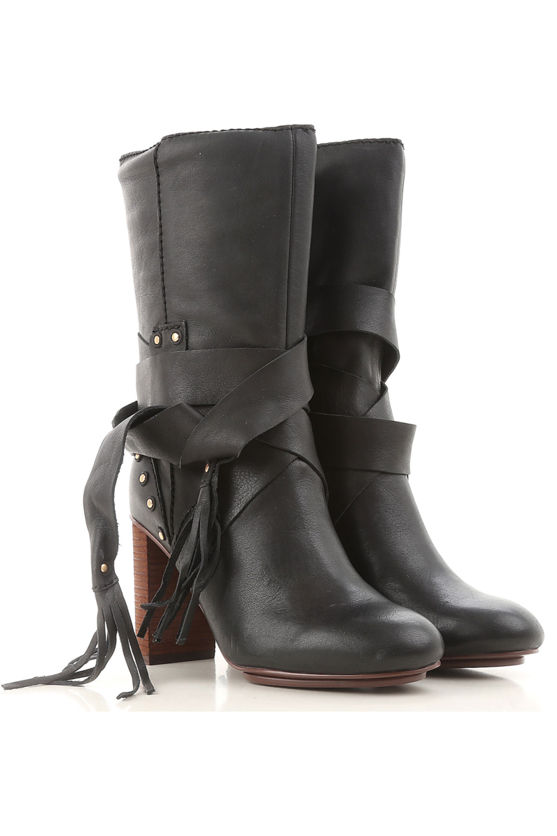 See By Chloe Boots for Women Booties On Sale in Outlet USA - GOOFASH