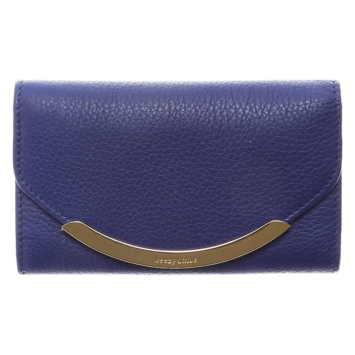 See By Chloe Wallet for Women Blue SE - GOOFASH