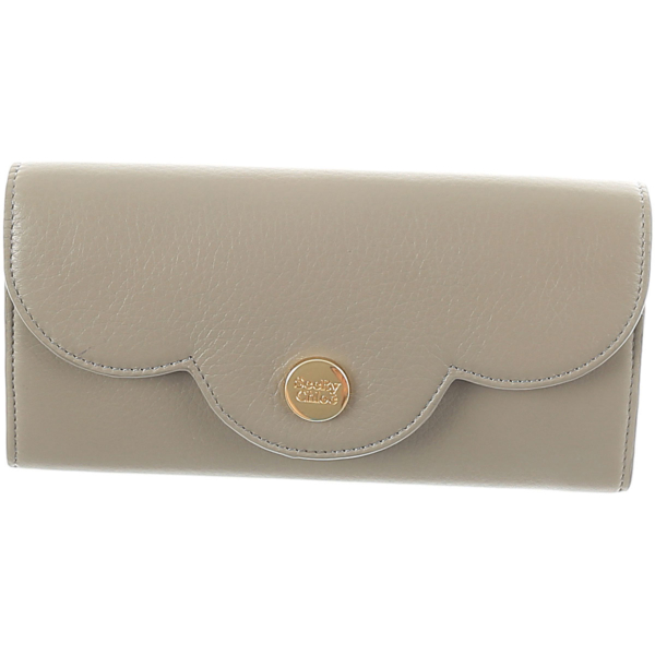 See By Chloe Wallet for Women Motty Grey USA - GOOFASH