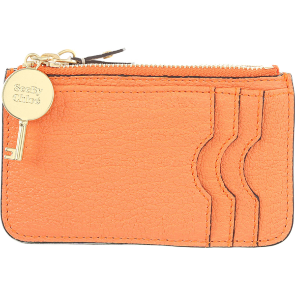 See By Chloe Wallet for Women Orange USA - GOOFASH