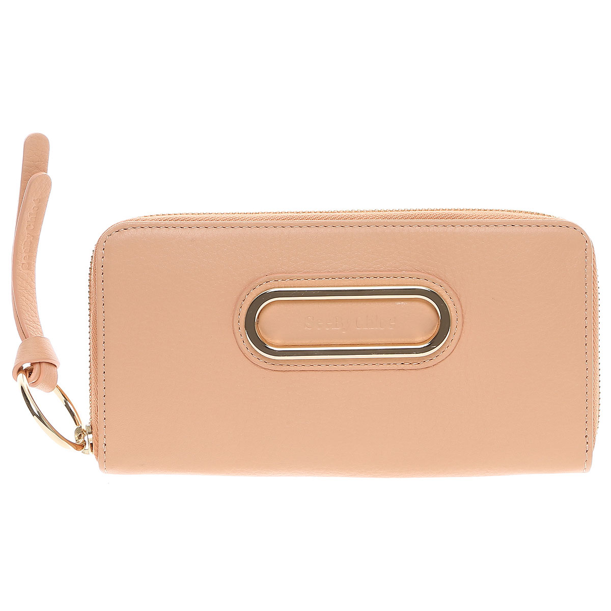 See By Chloe Wallet for Women Pink USA - GOOFASH