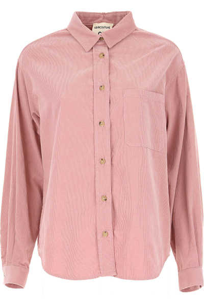 Semicouture Top for Women Pink USA - GOOFASH