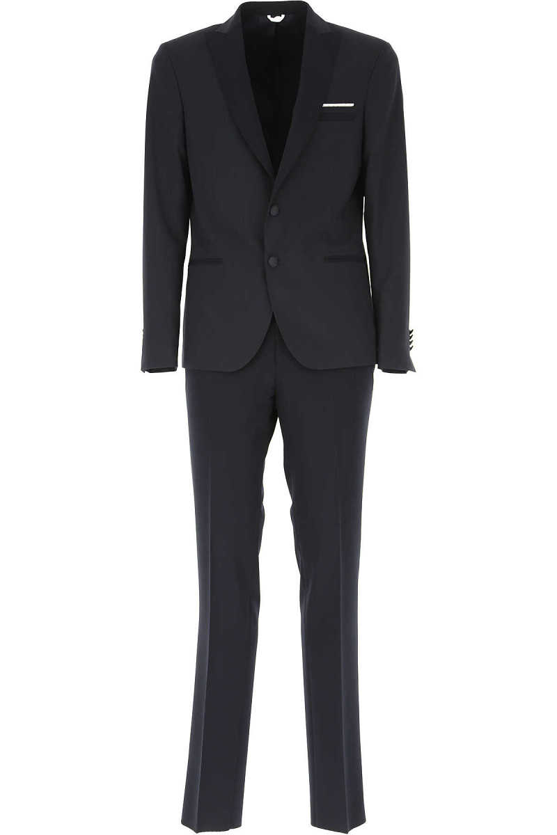 Simbols Men's Suit Dark Blue SE - GOOFASH