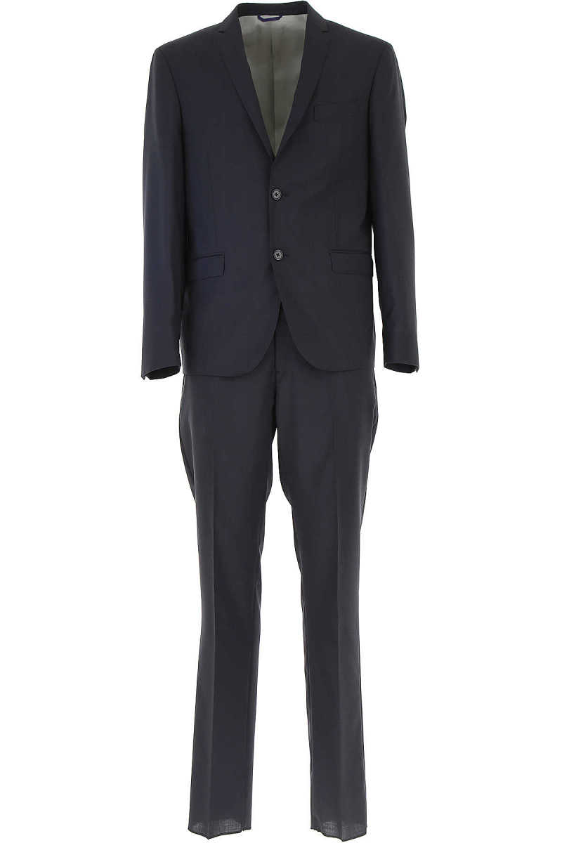 Simbols Men's Suit Midnight Blue USA - GOOFASH