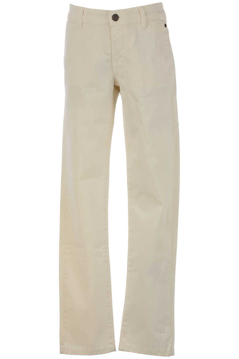 Siviglia Kids Pants for Boys On Sale in Outlet Beige SE - GOOFASH