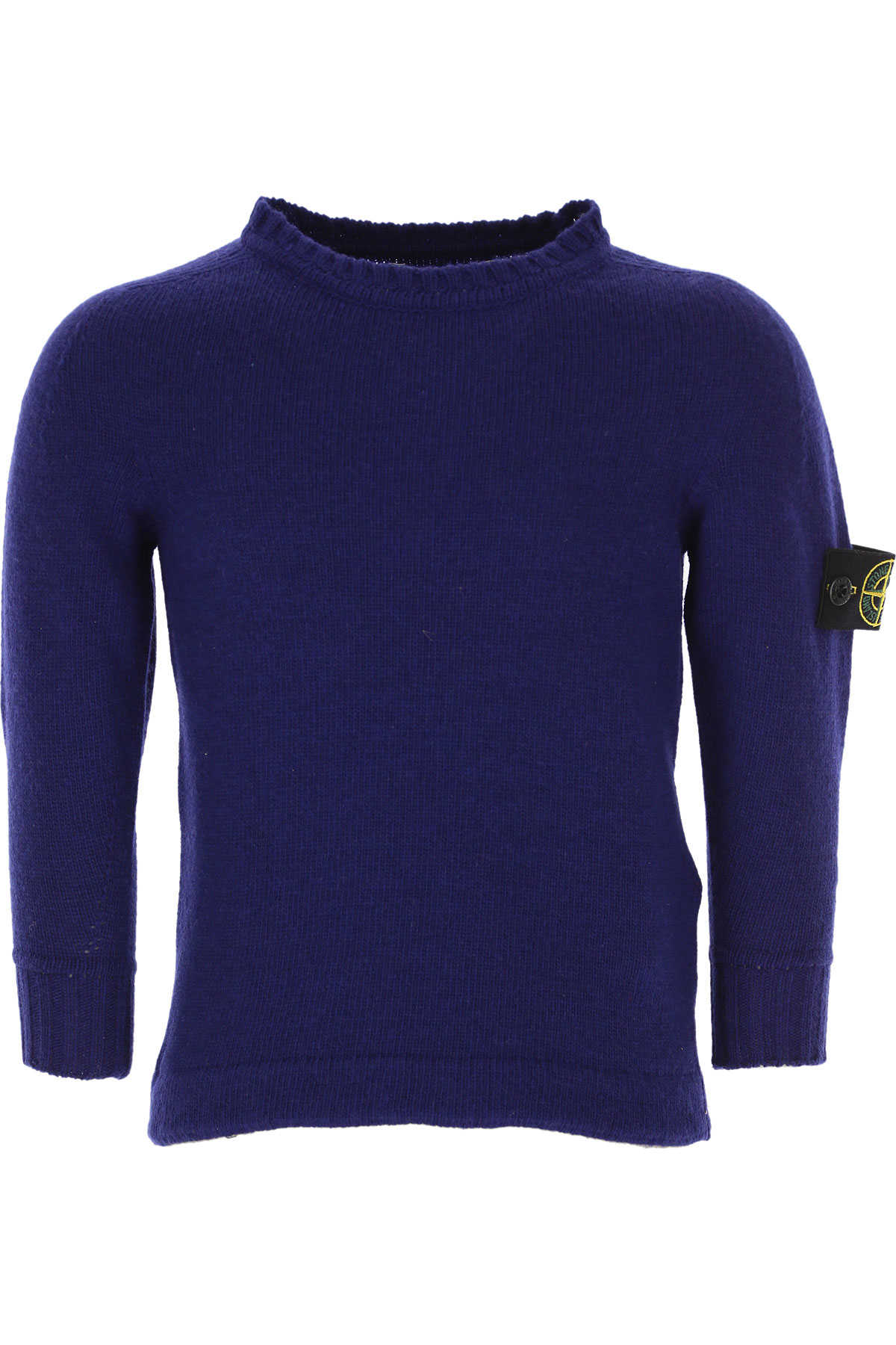 Stone Island Kids Sweaters for Boys On Sale in Outlet Blue SE - GOOFASH