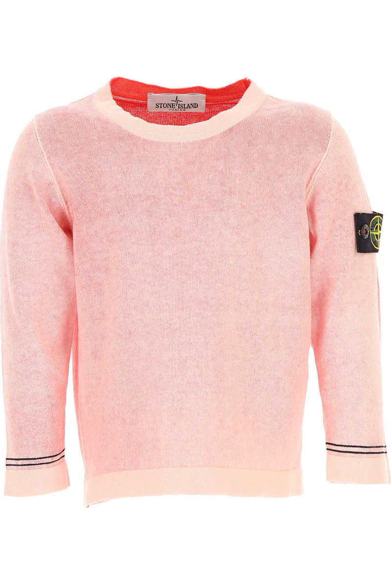 Stone Island Kids Sweatshirts & Hoodies for Boys in Outlet Red USA - GOOFASH