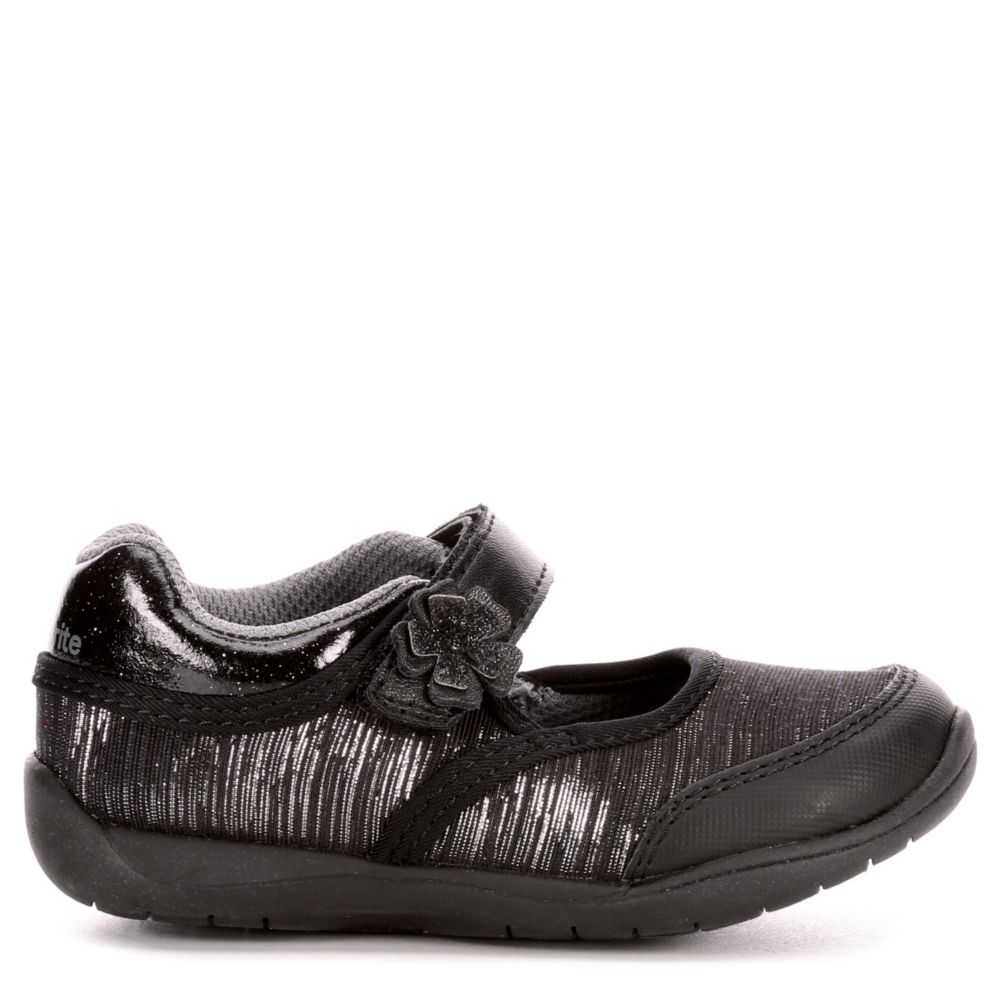Stride Rite Girls Infant  Cassidy Sneakers Black USA - GOOFASH